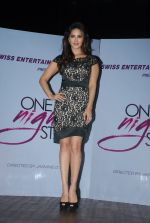 Sunny leone at One Night stand promotions in Mumbai on 24th Dec 2014 (20)_549be7328c538.JPG