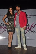 Sunny leone, Tanuj Virwani at One Night stand promotions in Mumbai on 24th Dec 2014 (31)_549be6e5637b8.JPG