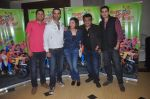 Ritesh Menon, Kushal Punjabi, Swanand Kirkire, Shilpa Shukla, Siddharth Sharma at Crazy Kukkad Family promotions in Mumbai on 26th Dec 2014 (10)_549e8526c78d1.JPG