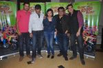 Ritesh Menon, Kushal Punjabi, Swanand Kirkire, Shilpa Shukla, Siddharth Sharma at Crazy Kukkad Family promotions in Mumbai on 26th Dec 2014 (15)_549e8505242a7.JPG