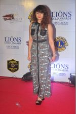 Aashka Goradia at the 21st Lions Gold Awards 2015 in Mumbai on 6th Jan 2015 (552)_54acf1e26cfd6.jpg