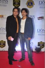 Ankit Tiwari at the 21st Lions Gold Awards 2015 in Mumbai on 6th Jan 2015 (393)_54acf25393fa0.jpg
