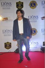 Ankit Tiwari at the 21st Lions Gold Awards 2015 in Mumbai on 6th Jan 2015 (394)_54acf2546937f.jpg