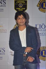Ankit Tiwari at the 21st Lions Gold Awards 2015 in Mumbai on 6th Jan 2015 (396)_54acf25614280.jpg