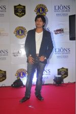 Ankit Tiwari at the 21st Lions Gold Awards 2015 in Mumbai on 6th Jan 2015 (399)_54acf258c0623.jpg