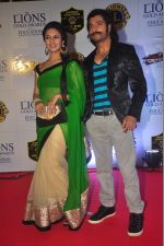Divyanka Tripathi at the 21st Lions Gold Awards 2015 in Mumbai on 6th Jan 2015 (484)_54acf3a739d2f.jpg