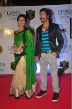 Divyanka Tripathi at the 21st Lions Gold Awards 2015 in Mumbai on 6th Jan 2015 (487)_54acf3a9c7ef3.jpg