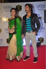 Divyanka Tripathi at the 21st Lions Gold Awards 2015 in Mumbai on 6th Jan 2015 (488)_54acf3aaabf43.jpg