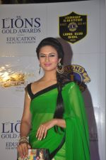 Divyanka Tripathi at the 21st Lions Gold Awards 2015 in Mumbai on 6th Jan 2015 (491)_54acf3ace1804.jpg