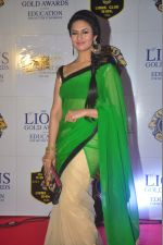 Divyanka Tripathi at the 21st Lions Gold Awards 2015 in Mumbai on 6th Jan 2015 (492)_54acf3ad9c971.jpg