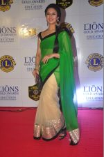 Divyanka Tripathi at the 21st Lions Gold Awards 2015 in Mumbai on 6th Jan 2015 (494)_54acf3af138db.jpg