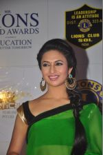 Divyanka Tripathi at the 21st Lions Gold Awards 2015 in Mumbai on 6th Jan 2015 (495)_54acf3afce097.jpg
