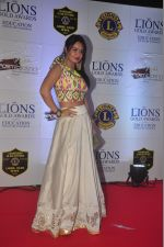 Kavita Verma at the 21st Lions Gold Awards 2015 in Mumbai on 6th Jan 2015 (36)_54acf3f6f2891.jpg