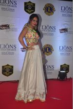 Kavita Verma at the 21st Lions Gold Awards 2015 in Mumbai on 6th Jan 2015 (37)_54acf3f7c775d.jpg