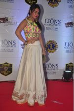 Kavita Verma at the 21st Lions Gold Awards 2015 in Mumbai on 6th Jan 2015 (42)_54acf3fc2fa4e.jpg