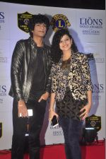 Palak Muchhal, Palaash Muchhal at the 21st Lions Gold Awards 2015 in Mumbai on 6th Jan 2015 (74)_54acf4ffcbafd.jpg