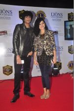 Palak Muchhal, Palaash Muchhal at the 21st Lions Gold Awards 2015 in Mumbai on 6th Jan 2015 (77)_54acf5015b509.jpg