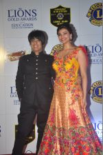 Rohit Verma, Daisy Shah at the 21st Lions Gold Awards 2015 in Mumbai on 6th Jan 2015 (560)_54acf324ceaae.jpg