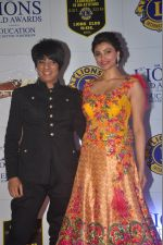 Rohit Verma, Daisy Shah at the 21st Lions Gold Awards 2015 in Mumbai on 6th Jan 2015 (565)_54acf33b11a56.jpg