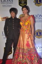 Rohit Verma, Daisy Shah at the 21st Lions Gold Awards 2015 in Mumbai on 6th Jan 2015 (561)_54acf3266ff18.jpg