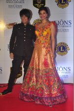 Rohit Verma, Daisy Shah at the 21st Lions Gold Awards 2015 in Mumbai on 6th Jan 2015 (563)_54acf32768306.jpg