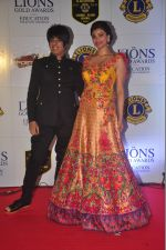 Rohit Verma, Daisy Shah at the 21st Lions Gold Awards 2015 in Mumbai on 6th Jan 2015 (567)_54acf32878ce3.jpg
