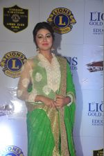Shafaq Naaz at the 21st Lions Gold Awards 2015 in Mumbai on 6th Jan 2015 (256)_54acf60a6f510.jpg