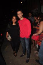 Arpita Khan snapped outside Olive in Mumbai on 7th Jan 2015 (15)_54ae2c06efaa1.JPG