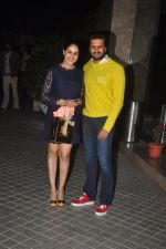 Genelia D Souza, Riteish Deshmukh at Farah Khan_s birthday bash at her house in Andheri on 8th Jan 2015 (793)_54afc51ba02aa.JPG