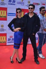 Taapsee Pannu, Zayed Khan at CCL Red Carpet in Broabourne, Mumbai on 10th Jan 2015 (201)_54b26cdd98f7e.JPG