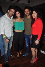 Addite Shirwaikar at TV actor Mohit Mallik birthday bash in The Threesome Cafe, Mumbai on 11th Jan 2015 (76)_54b386f4c7418.JPG