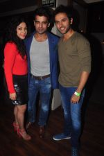 Addite Shirwaikar, Mohit Malik at TV actor Mohit Mallik birthday bash in The Threesome Cafe, Mumbai on 11th Jan 2015 (100)_54b387bea76eb.JPG