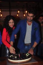 Addite Shirwaikar, Mohit Malik at TV actor Mohit Mallik birthday bash in The Threesome Cafe, Mumbai on 11th Jan 2015 (107)_54b387c31aed6.JPG