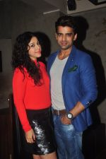 Addite Shirwaikar, Mohit Malik at TV actor Mohit Mallik birthday bash in The Threesome Cafe, Mumbai on 11th Jan 2015 (89)_54b3880f11e6d.JPG
