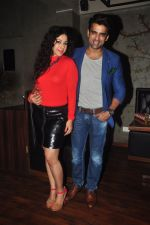 Addite Shirwaikar, Mohit Malik at TV actor Mohit Mallik birthday bash in The Threesome Cafe, Mumbai on 11th Jan 2015 (93)_54b387ba2fec0.JPG