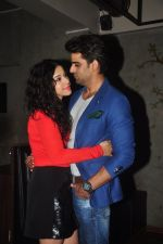 Addite Shirwaikar, Mohit Malik at TV actor Mohit Mallik birthday bash in The Threesome Cafe, Mumbai on 11th Jan 2015 (95)_54b387bb4cdd5.JPG