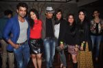 Addite Shirwaikar, Mohit Malik at TV actor Mohit Mallik birthday bash in The Threesome Cafe, Mumbai on 11th Jan 2015 (103)_54b3870346b24.JPG