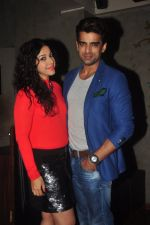 Addite Shirwaikar, Mohit Malik at TV actor Mohit Mallik birthday bash in The Threesome Cafe, Mumbai on 11th Jan 2015 (90)_54b386fbd5895.JPG
