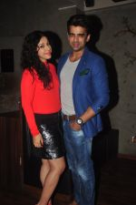 Addite Shirwaikar, Mohit Malik at TV actor Mohit Mallik birthday bash in The Threesome Cafe, Mumbai on 11th Jan 2015 (91)_54b386fd139bf.JPG