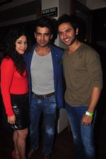 Addite Shirwaikar, Mohit Malik at TV actor Mohit Mallik birthday bash in The Threesome Cafe, Mumbai on 11th Jan 2015 (99)_54b38700de4cc.JPG