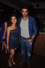 Neha Marda, Mohit Malik at TV actor Mohit Mallik birthday bash in The Threesome Cafe, Mumbai on 11th Jan 2015 (42)_54b387da33d2c.JPG