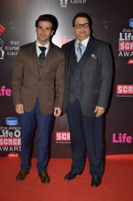 Girish Taurani, Ramesh Taurani at Life Ok Screen Awards red carpet in Mumbai on 14th Jan 2015(444)_54b7d26a7e806.JPG