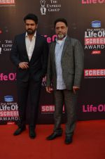 Harman Baweja, Harry Baweja at Life Ok Screen Awards red carpet in Mumbai on 14th Jan 2015(203)_54b7d30b17bc1.JPG