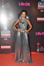 Mugdha Godse at Life Ok Screen Awards red carpet in Mumbai on 14th Jan 2015(494)_54b7ec7040c41.JPG