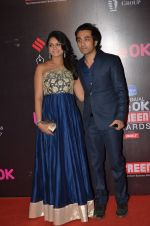 Tejaswini Kolhapure at Life Ok Screen Awards red carpet in Mumbai on 14th Jan 2015(628)_54b7ef3fe2ff0.JPG
