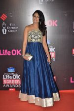Tejaswini Kolhapure at Life Ok Screen Awards red carpet in Mumbai on 14th Jan 2015(629)_54b7ef433249a.JPG