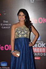 Tejaswini Kolhapure at Life Ok Screen Awards red carpet in Mumbai on 14th Jan 2015(631)_54b7ef473a366.JPG