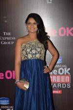 Tejaswini Kolhapure at Life Ok Screen Awards red carpet in Mumbai on 14th Jan 2015(632)_54b7ef4b853d7.JPG