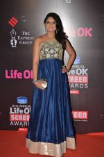 Tejaswini Kolhapure at Life Ok Screen Awards red carpet in Mumbai on 14th Jan 2015(633)_54b7ef4eb9cf6.JPG