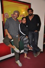 Akshay Kumar & Rana Daggubati at Radio Mirchi studio for the promotion of BABY on 15th Jan 2015 (4)_54b8d128a4675.JPG